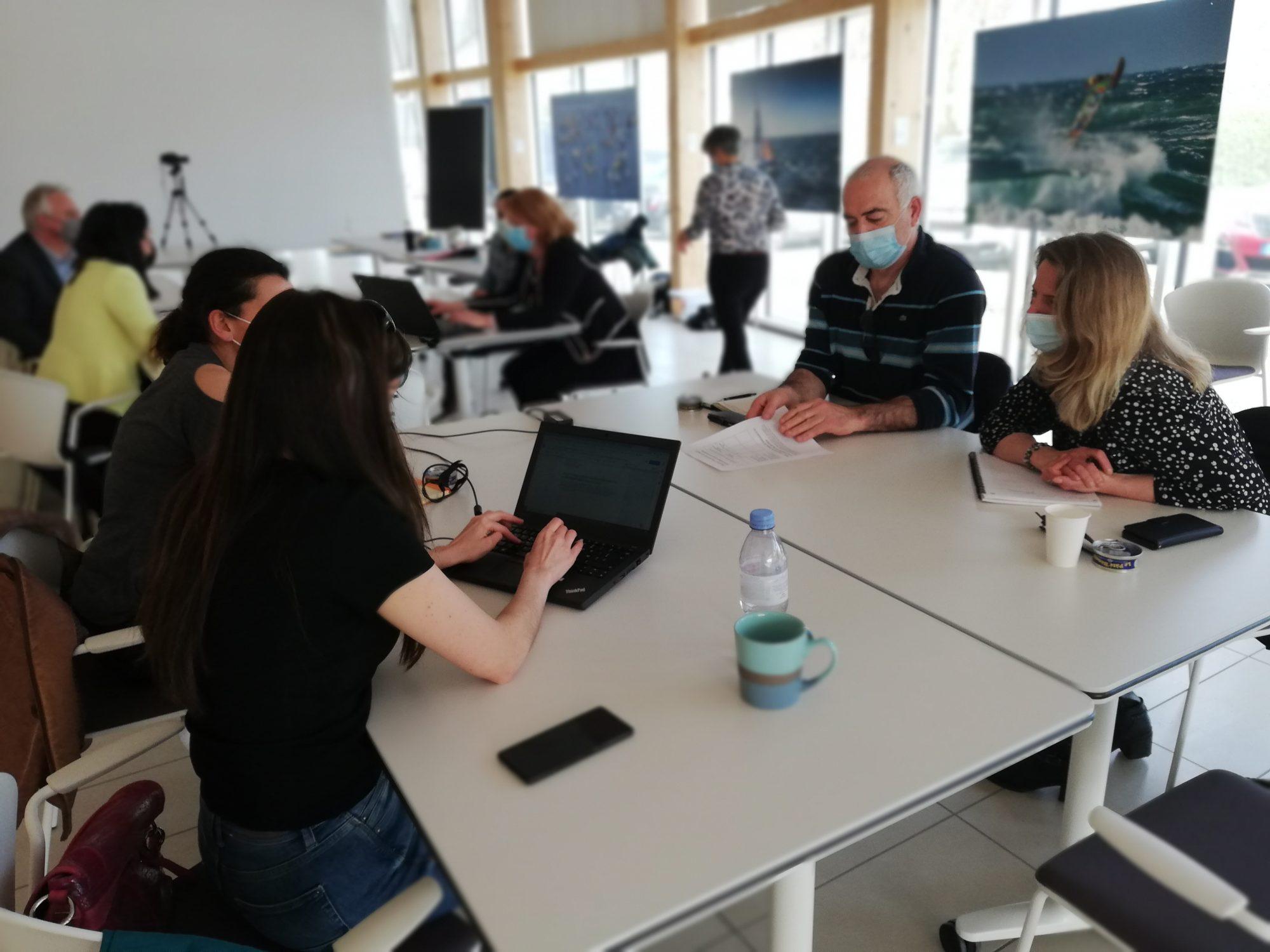 QCD, GT Attractivité 19/03/2021 - Quid du télétravail indépendant du lieu de travail ?