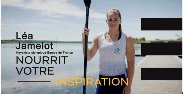 Léa Jamelot, membre de l'équipe de France de kayak pour les Jo de Tolyo, Credits photo Franck Bettermin