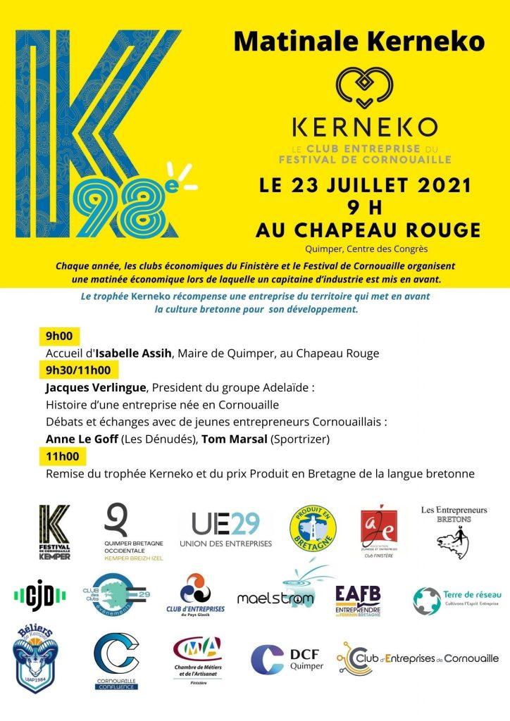 Kerneko, le club entreprises du Festival de Cornouaille