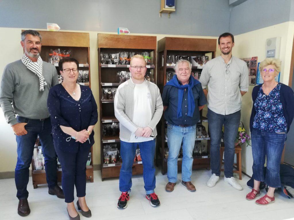 Attractivité de la Cornouaille : Tour des EPCI à la CCHPB : visite de l'entreprise Chocolat Robinet, Pouldreuzic