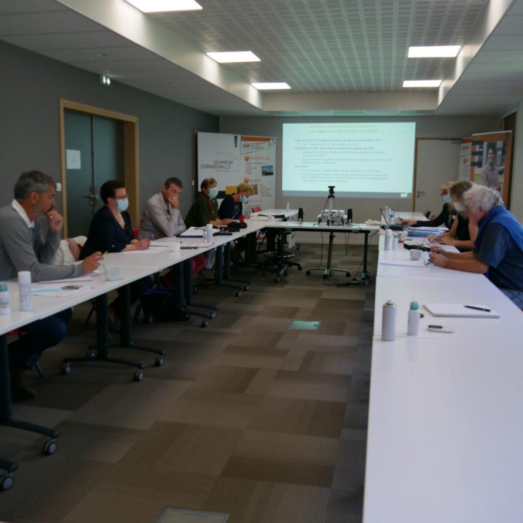 Attractivité de la Cornouaille : Tour des EPCI à la CCHPB : participants